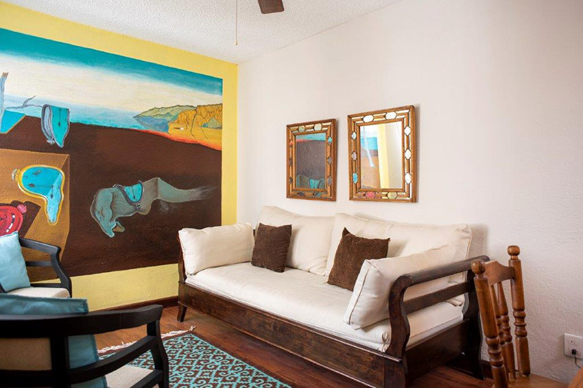 Salvador Dali living room