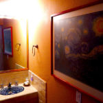 Vincent van Gogh bathroom
